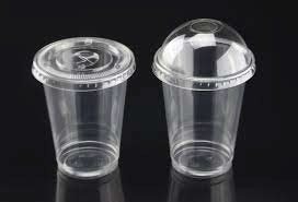 Cups with lids