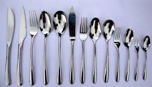 Complete cutlery sets for hotels and catering